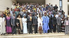 Delegates to the Conference in Cotonou