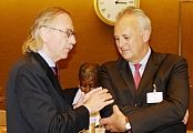 Mr. Anders B. Johnsson and Lord Malloch-Brown