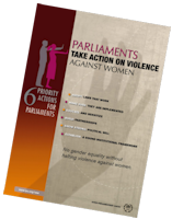 Poster of Parliament Take Action on Violence against Women